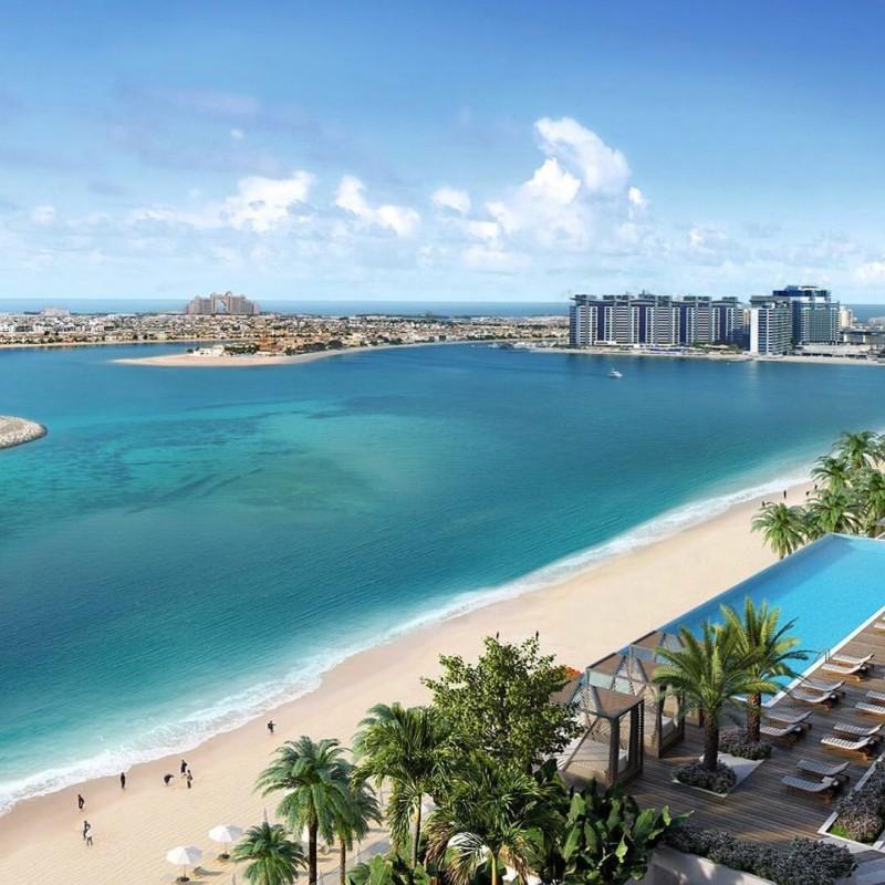 迪拜房产:迪拜王子岛,海景住宅公寓,伊玛尔开发商,包租包托管