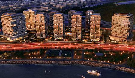 伊斯坦布尔一线海景高层豪宅 4-5房