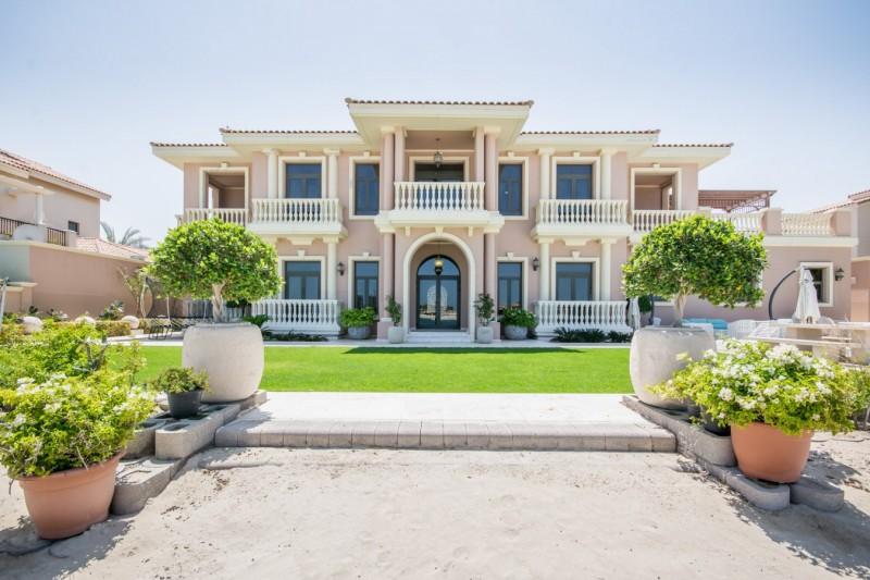 迪拜房产投资:迪拜棕榈岛别墅房源,二手别墅房源