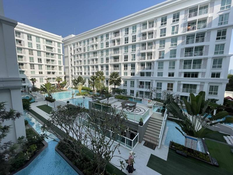 泰国芭提雅现房泳池公寓一居室特价出售送冰箱Orient