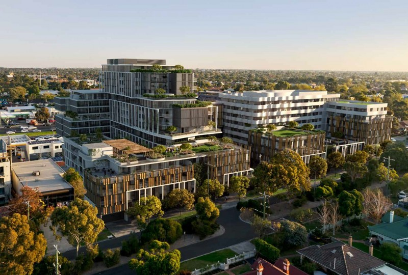 近南半球最大购物中心联排别墅+公寓