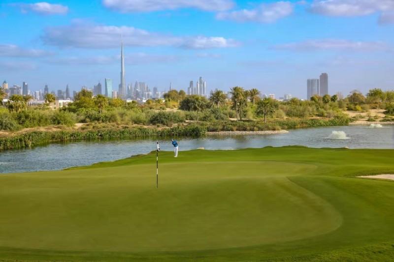 迪拜房产:伊玛尔开发商,迪拜山庄地皮出售,可自建别墅