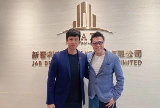 香港喜剧大师詹Sir再次到访JAB办公室
