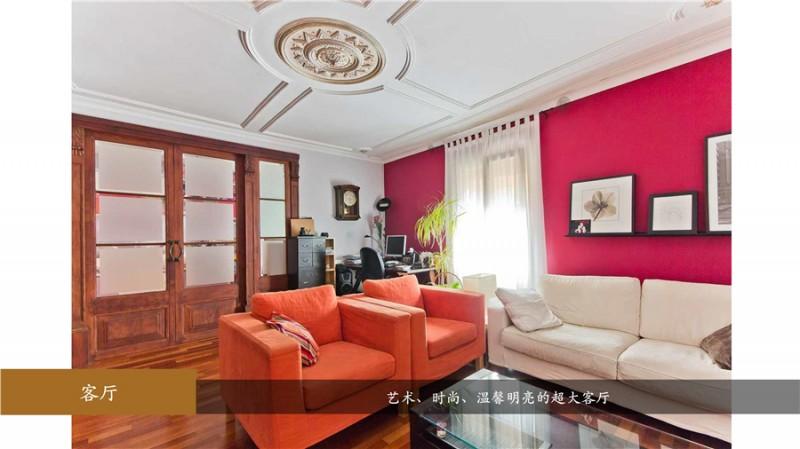 巴塞罗那欧式古典豪华装修3房