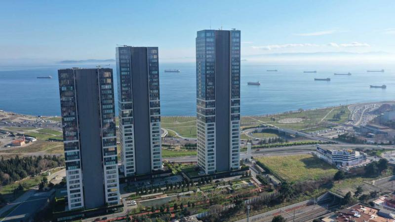 伊斯坦布尔房价:1500美元起 运河经济带海景住宅 全新现房