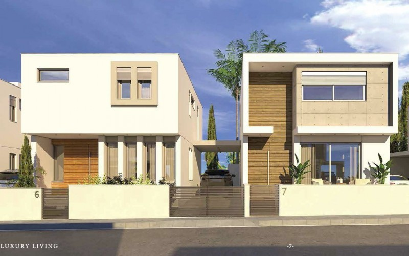 拉纳卡 机场城市中最热销的别墅区域 3房花园别墅 高性价比