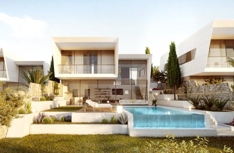 塞浦路斯 利马索尔 豪华别墅房产4房 期房私人泳池花园