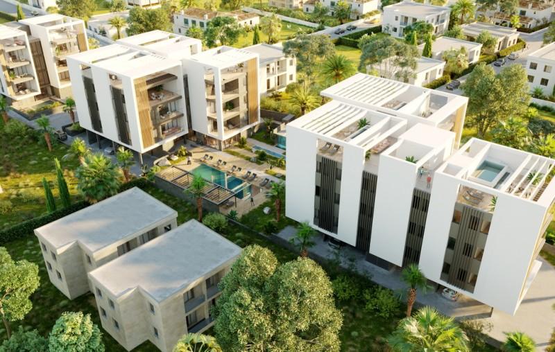 塞浦路斯 帕福斯黄金地段旅游区 国王大道 带泳池公寓2房