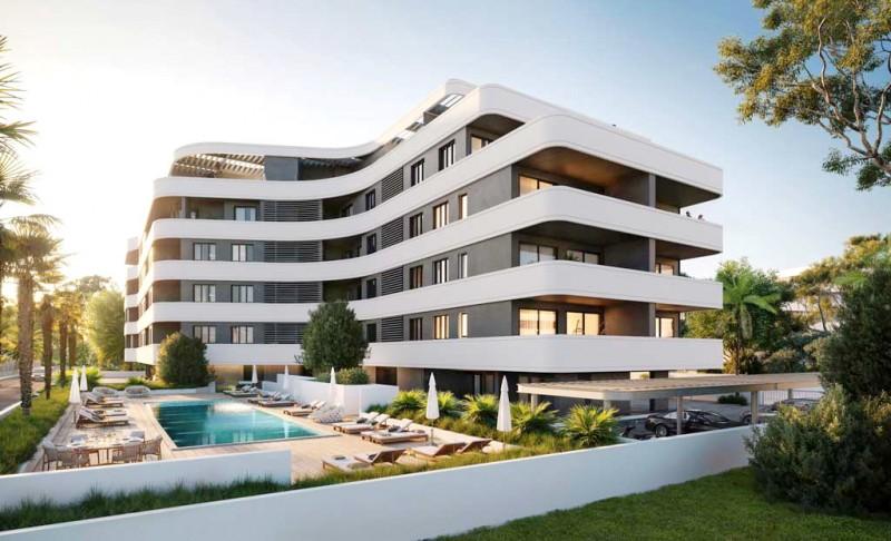 塞浦路斯 利马索尔 豪华顶层公寓别墅 4房 大天台带私人泳池