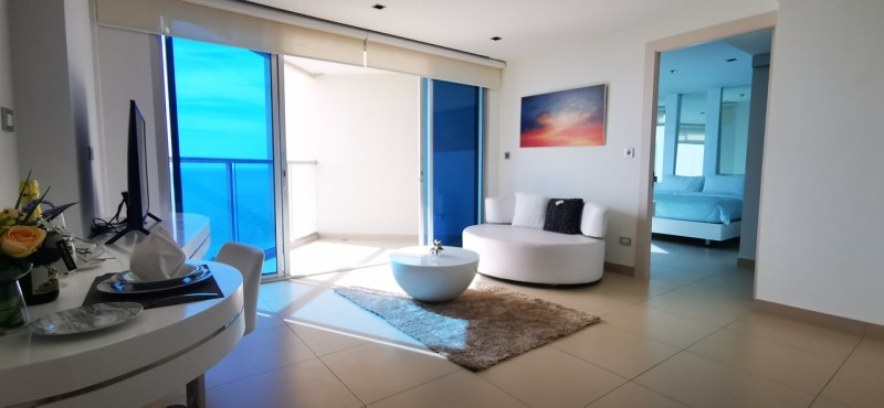芭提雅帕山一线海景公寓Sands-56.4sqm