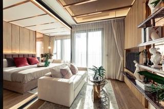 芭提雅市中心豪华海景公寓ONCE-34.5一居室