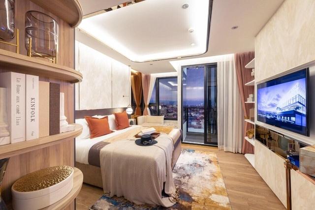 芭提雅市中心豪华海景公寓ONCE-28.4开间户型