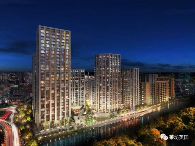 英国房产英国伦敦公寓 - 伦敦奥运村中的伦敦滨江新城