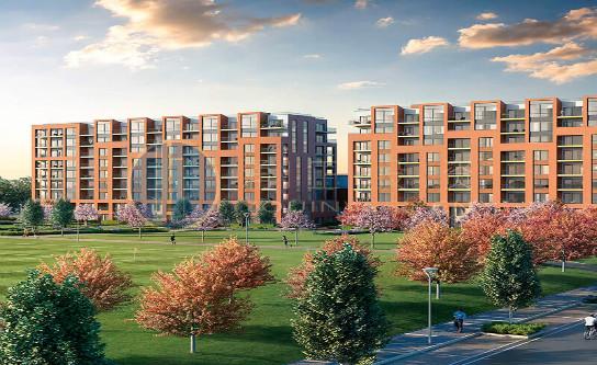 英国房地产伦敦公寓 - 科林戴尔花园 - 伦敦亚洲美食城附近
