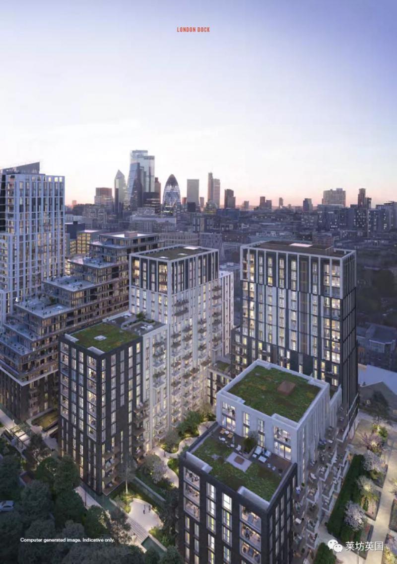 英国房产伦敦公寓 - 伦敦码头项目 - 紧邻伦敦塔