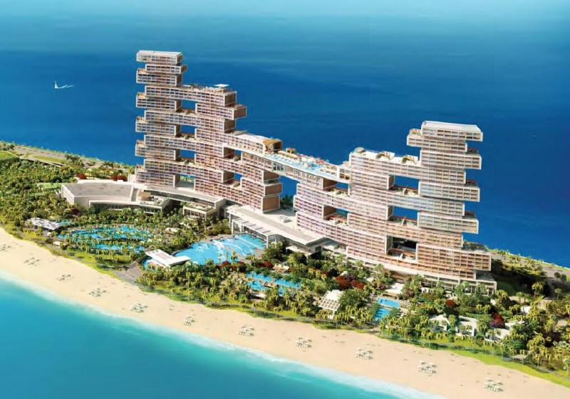 迪拜豪宅:迪拜顶级奢华海景房,亚特兰蒂斯皇家度假村酒店及公寓