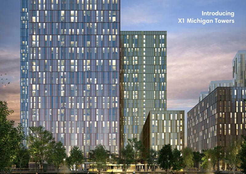 英国房产曼城公寓 - 曼城密执根高档公寓