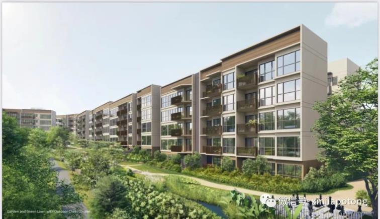 沁水轩-2021年新加坡最低开盘入场价的新私宅,北部武吉坎贝拉小镇大转型