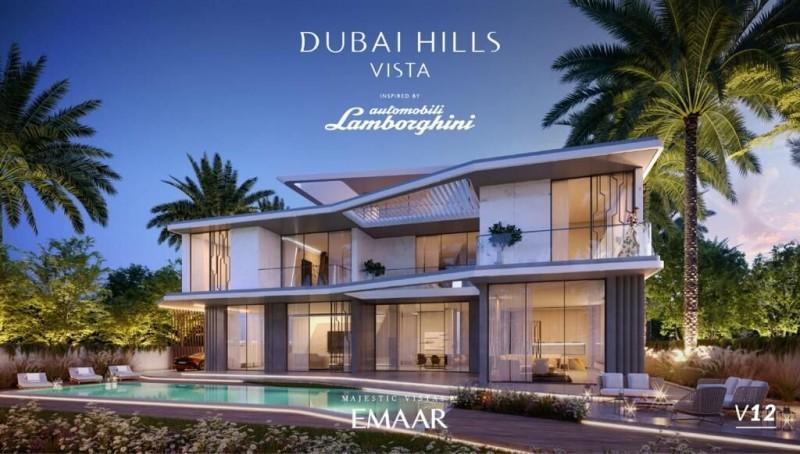 迪拜房产:兰博基尼全球限量别墅,迪拜山庄