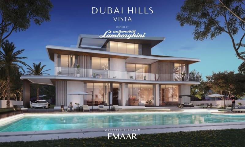 迪拜房产 全球限量发售的 兰博基尼别墅 迪拜山庄豪宅篇