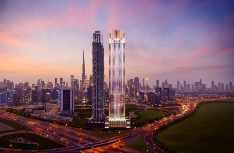 迪拜房产:迪拜市中心商务港区,御庭豪宅,7年无利息的付款计划
