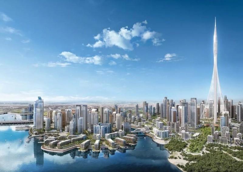 迪拜房产:迪拜云溪港房产项目介绍,迪拜第一高塔所在地