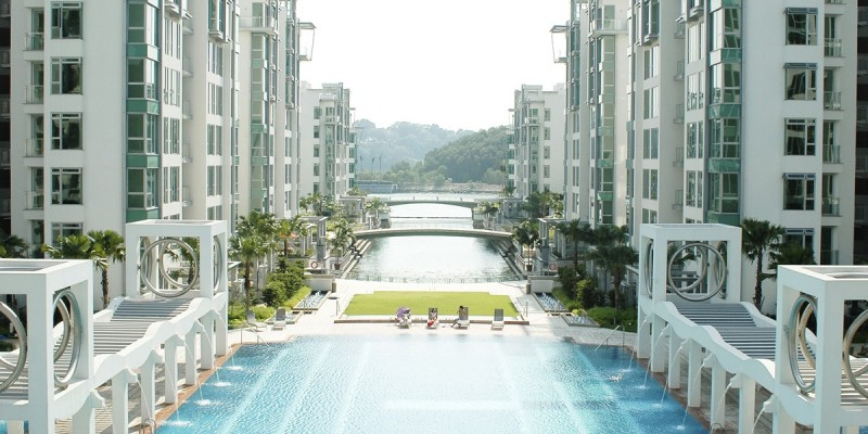 新加坡临海景观度假公寓-Caribbean