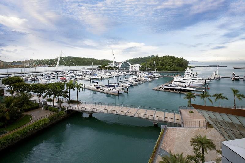 新加坡聖淘沙對岸優質高檔豪宅- 映水苑@吉寶灣