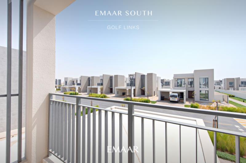 迪拜房产置业:迪拜世博园区,伊玛尔南城,高尔夫独栋别墅