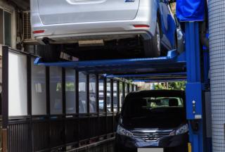 日本公寓楼的停车位解释