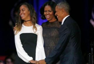奥巴马长女读哈佛:奥巴马的女儿的12件事