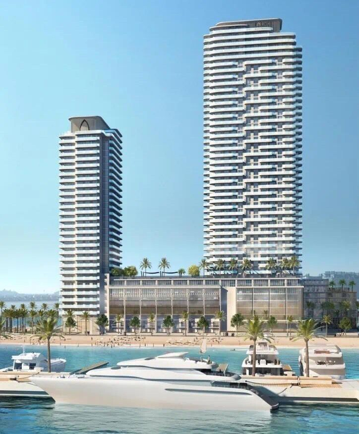 迪拜房产:迪拜世博会商机,迪拜王子岛海景房,朝向迪拜棕榈岛