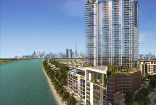 迪拜房产:迪拜学区房,首霸心领地,WAVES浪花公馆,运河景